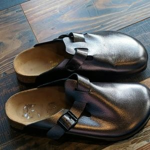Papillio by Birkenstock  metallic anthracite